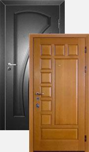 металлические двери в подольске двустворчатые