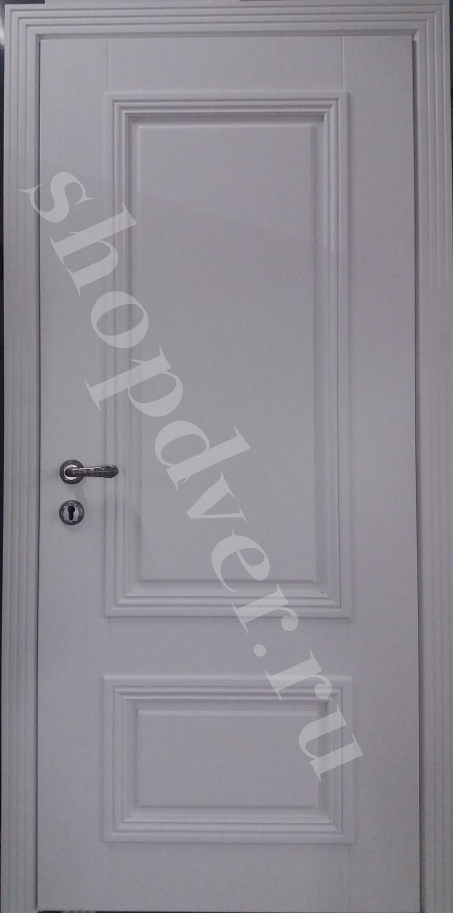 Металлические двери МДФ